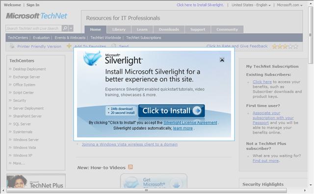 Micro Silverlight